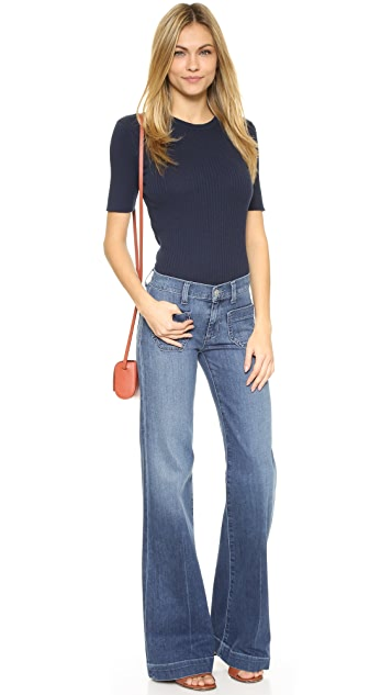 Hudson Libby Wide Leg Sailor Jeans