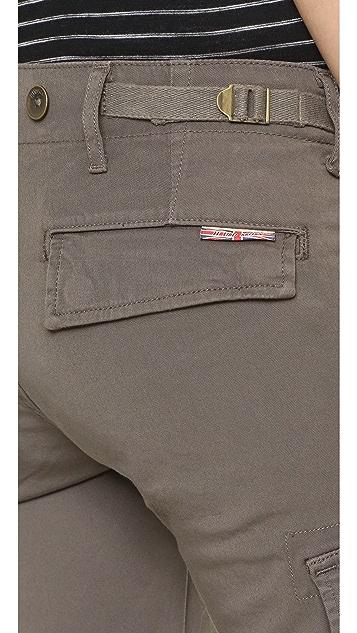 Hudson Charlie Cuffed Cargo Shorts