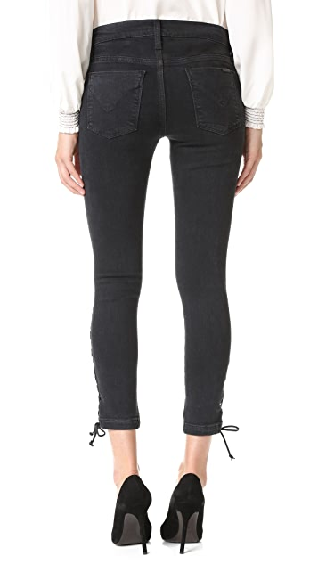 Hudson Nix Lace Up Jeans