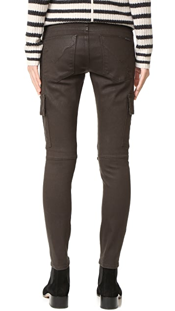 Hudson Colby Moto Skinny Jeans