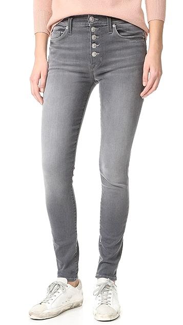 eabfbe4e3d4 Hudson Ciara High Rise Exposed Button Jeans | SHOPBOP
