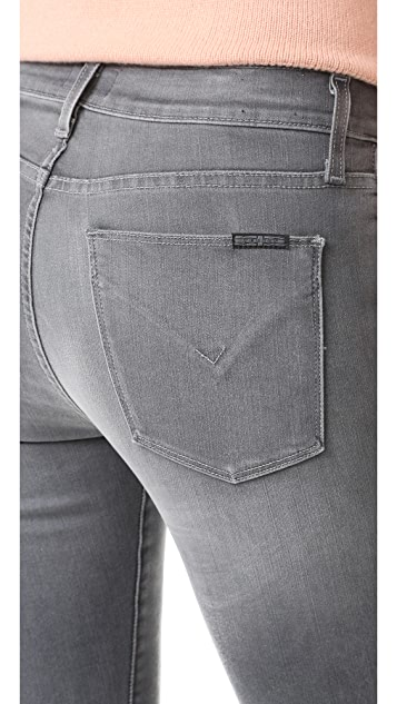 Hudson Ciara High Rise Exposed Button Jeans