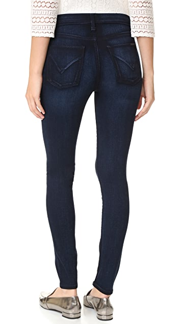 Hudson Barbara High Waisted Super Skinny Jeans