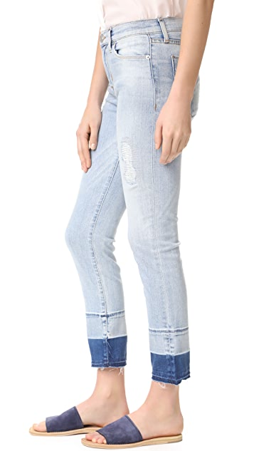 Hudson Zoeey Mid Rise Cropped Jeans