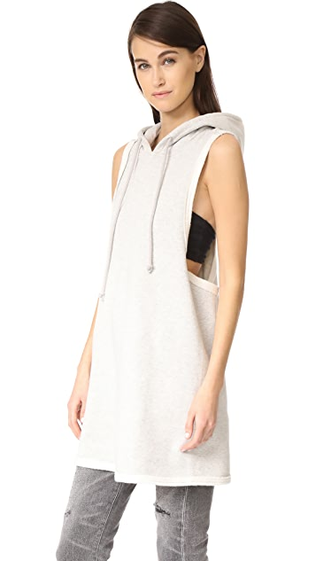 Hudson Sleeveless Hoodie Dress