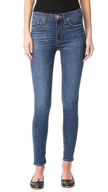 Hudson Barbara High Waisted Skinny Jeans