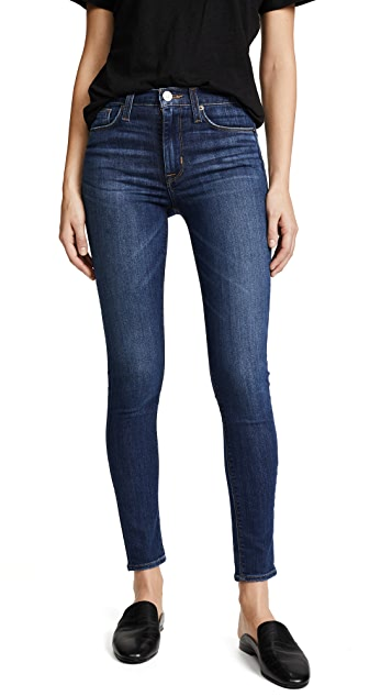 Hudson Barbara High Waisted Skinny Jeans