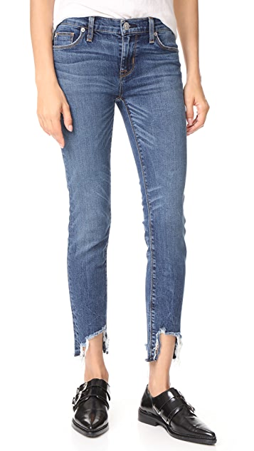 Hudson Colette Midrise Skinny Cigarette Jeans - Split Second