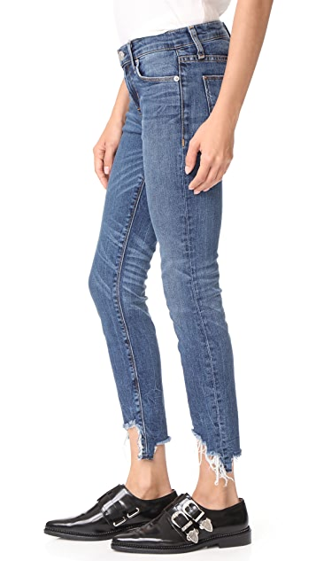 Hudson Узкие джинсы-дудочки Colette со средней посадкой