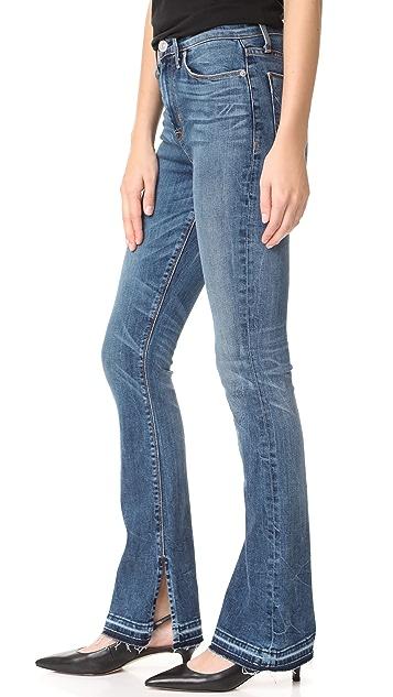 Hudson Heartbreaker High Rise Boot Cut Jeans
