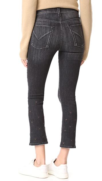Hudson Harper High Rise Cropped Jeans