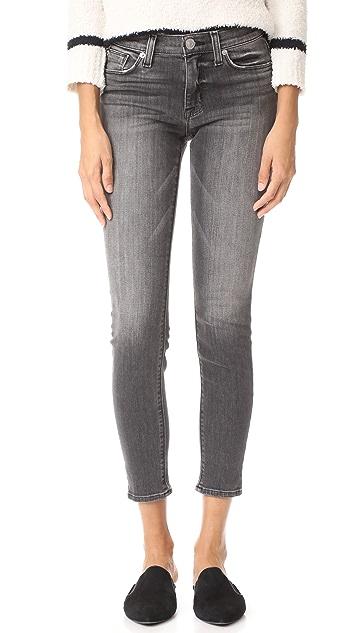 Hudson Nico Mid Rise Ankle Super Skinny Jeans - Spectrum