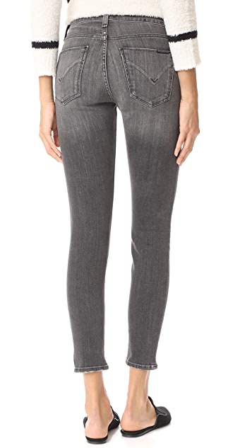 Hudson Nico Mid Rise Ankle Super Skinny Jeans