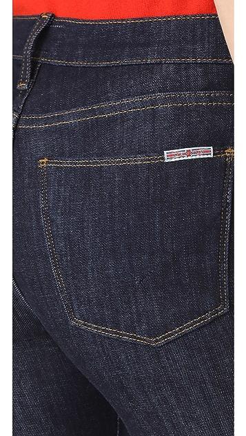 Hudson Drew Mid Rise Boot Cut Jeans