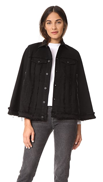Hudson Denim Cape