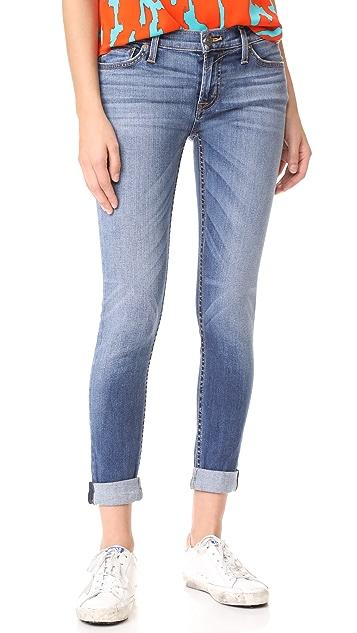 Hudson Tally Contender Crop Jeans - Contender