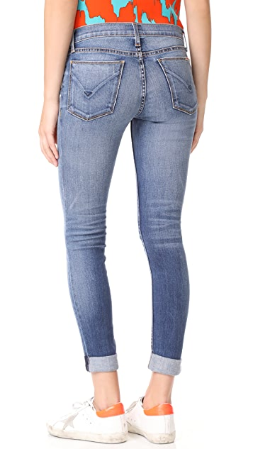Hudson Tally Contender Crop Jeans