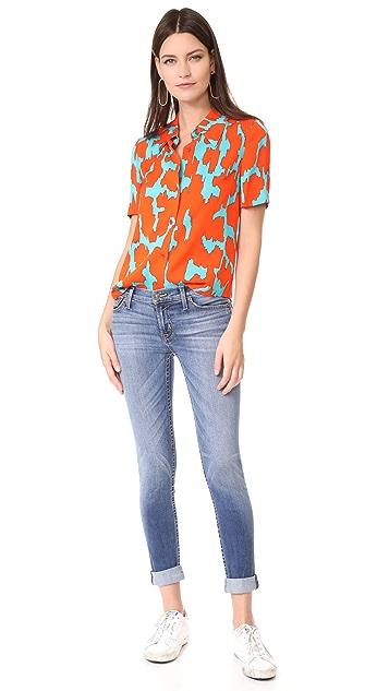 Hudson Tally Contender Crop Jeans