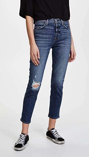 Hudson Holly High Rise Crop Skinny Jeans - New Level