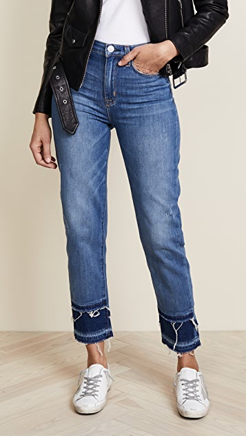 Hudson Zoeey High Rise Crop Jeans - Social Grace