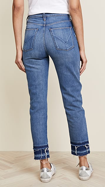 Hudson Zoeey High Rise Crop Jeans
