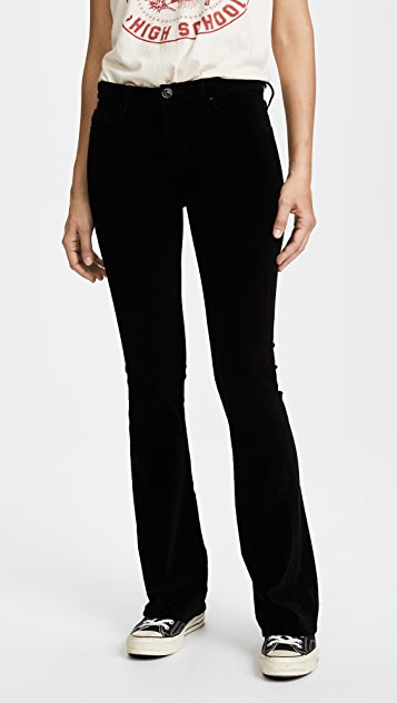 Hudson Drew Velvet Boot Cut Pants