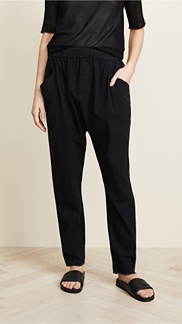 Hudson x Baja East Harem Pants - Baja East Black Chambray
