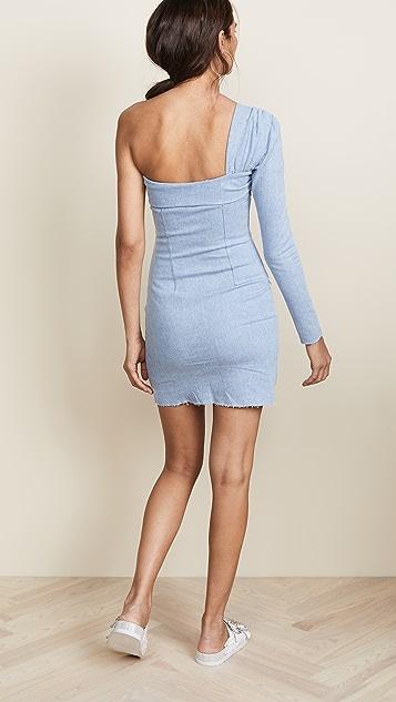 Hudson x Baja East Contour Mini Dress