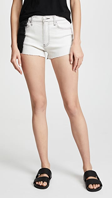 Hudson x Baja East Zooey High Rise Shorts