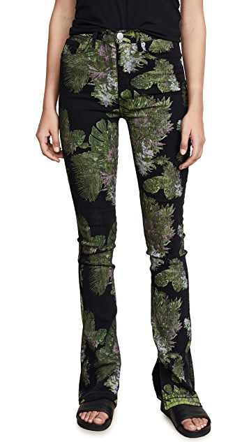 Hudson x Baja East Heartbreaker High Rise Bootcut Jeans