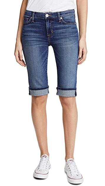 Hudson Amelia Cuffed Knee Shorts