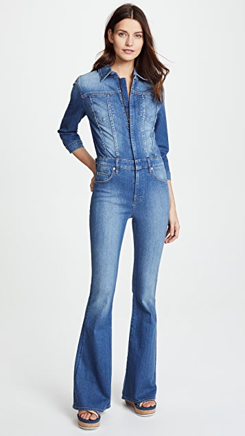 Hudson Holly Long Sleeve Jumpsuit - Rambler