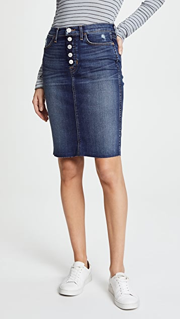 Hudson Remi High Rise Pencil Skirt