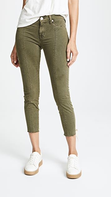 Hudson Nico Lace Up Skinny Pants