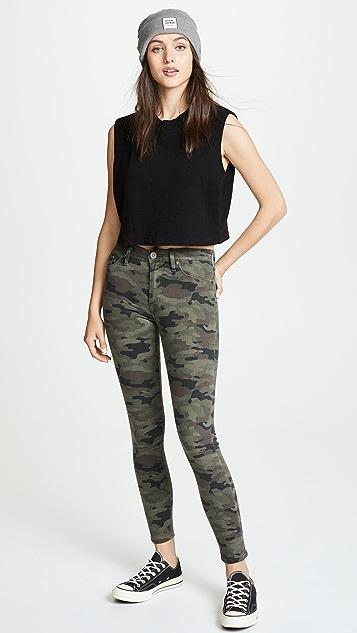 Hudson Barbara High Rise Skinny Jeans