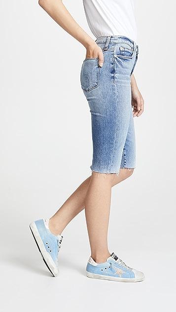 Hudson Zoeey Cutoff Boyfriend Shorts