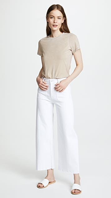 Hudson Holly Wide Leg Cropped Jeans