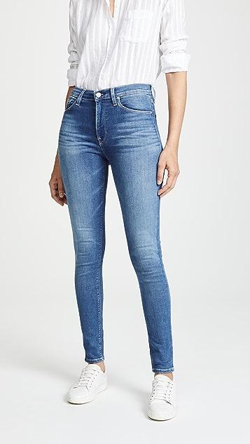 Hudson Barbara High Waist Skinny Jeans