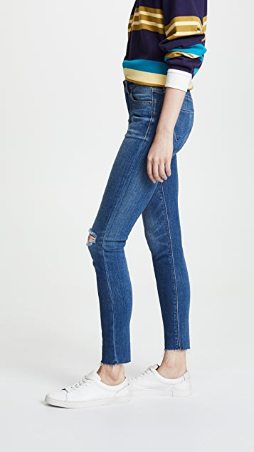 Hudson Nico Mid Rise Ankle Jeans