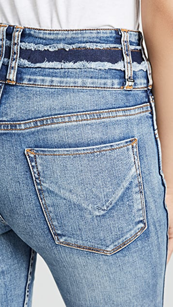 Hudson Vintage Holly Crop Skinny Jeans