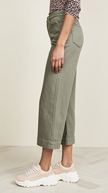 Hudson Holly Wide Leg Crop Pants