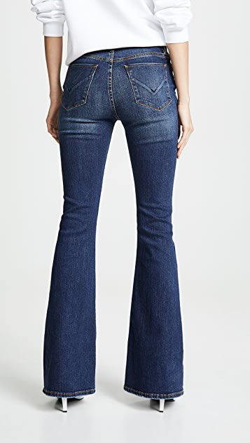 Hudson Holly High Rise Flare Jeans