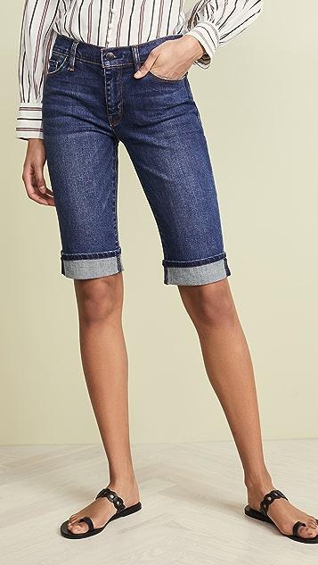 Hudson Amelia Cuffed Knee Shorts