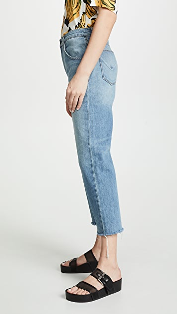 Hudson Sloane Extreme Baggy Cropped Jeans