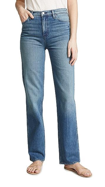 Hudson Faye 高腰直脚牛仔裤