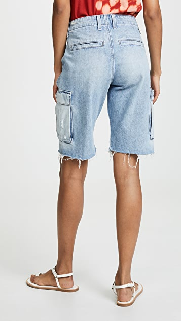 Hudson Jane Relaxed Cargo Shorts