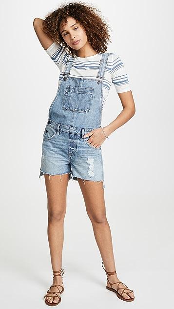 Hudson Sloane 短连体裤