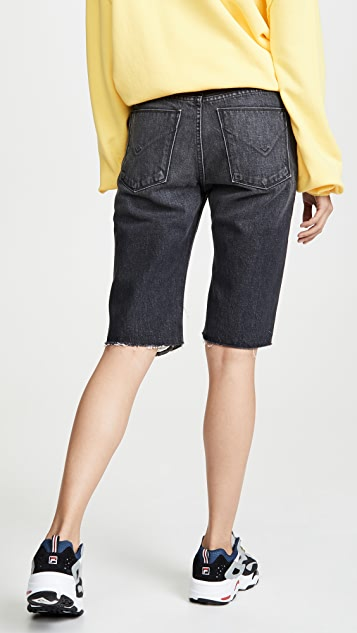 Hudson Sloane Long Cut Off Shorts