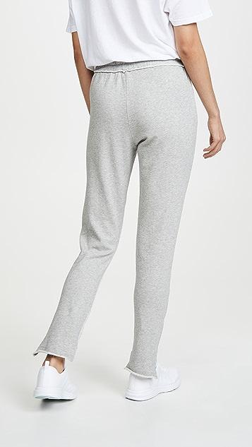 Hudson Спортивные брюки с неровным низом