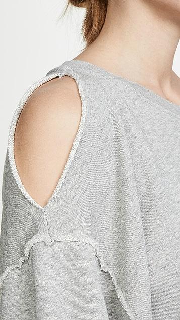 Hudson Open Shoulder Sweatshirt